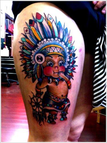 tatuajes de indios y aborigenes7
