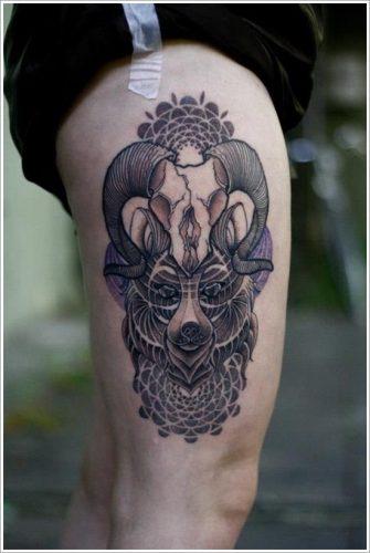 tatuajes de osos16