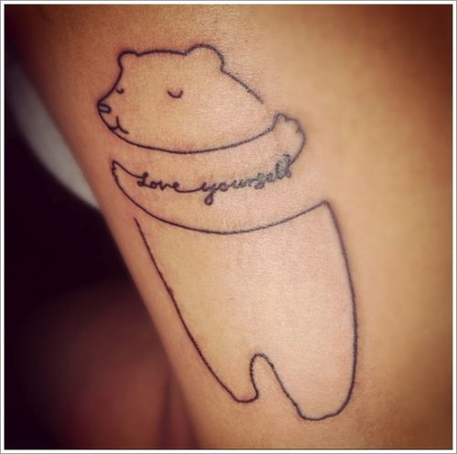 tatuajes de osos23