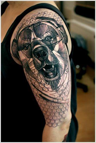 tatuajes de osos24
