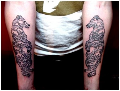 tatuajes de osos31