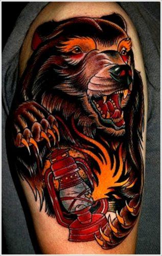tatuajes de osos33