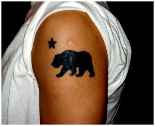 tatuajes de osos7