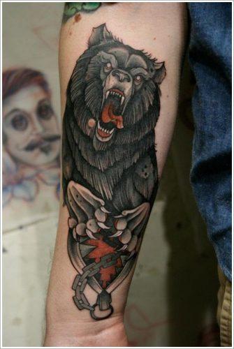 tatuajes de osos9