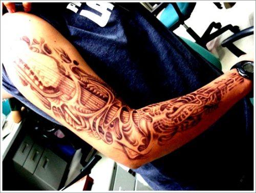 tatuajes biomecanicos maquinas15