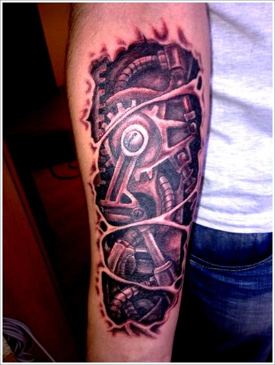 Fotos Tatuajes Biomecanicos 33 tatuajes biomecánicos, cuando las maquinas cobran vida