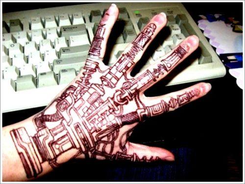 tatuajes biomecanicos maquinas20