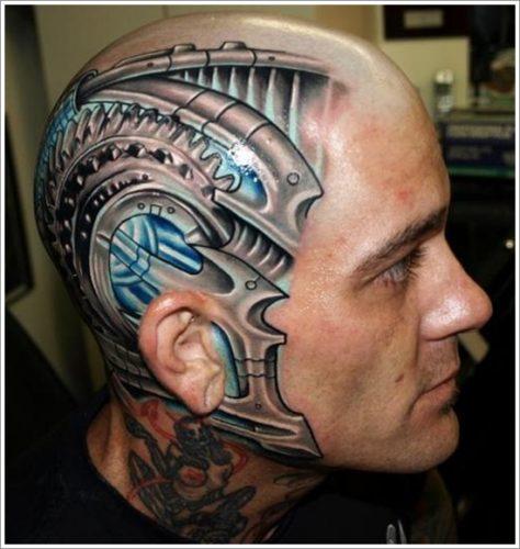 tatuajes biomecanicos maquinas21