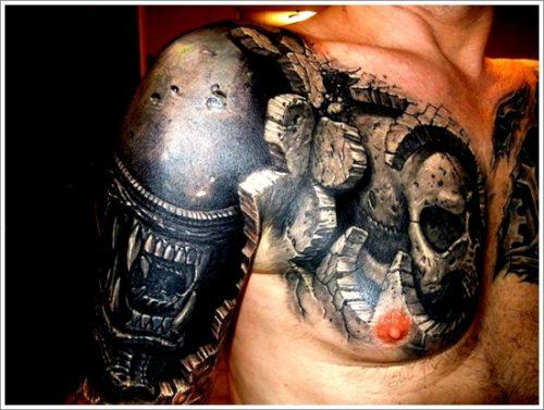 tatuajes biomecanicos maquinas30