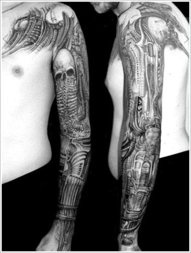 tatuajes biomecanicos maquinas31