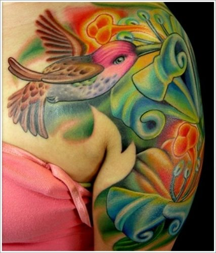 tatuajes de colibri19