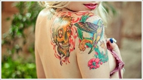 tatuajes de colibri22
