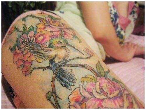 tatuajes de colibri25