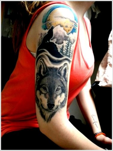 tatuajes de lobos10