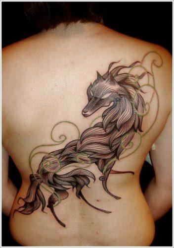 tatuajes de lobos13
