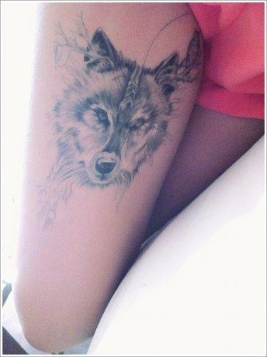 tatuajes de lobos14