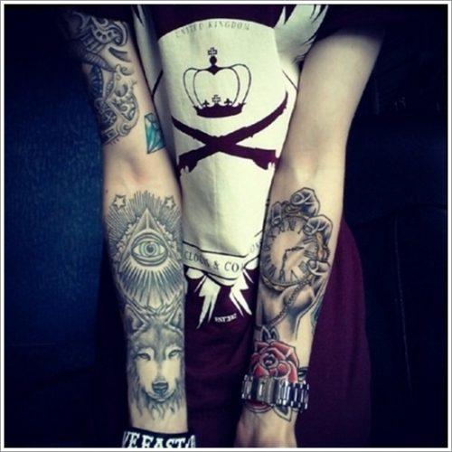 tatuajes de lobos18