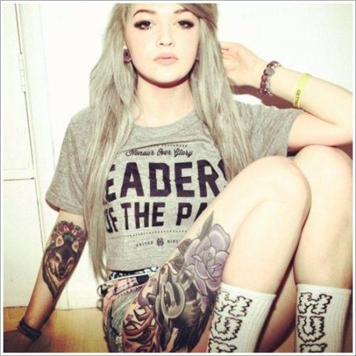 tatuajes de lobos21