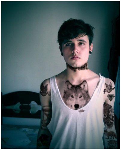tatuajes de lobos24