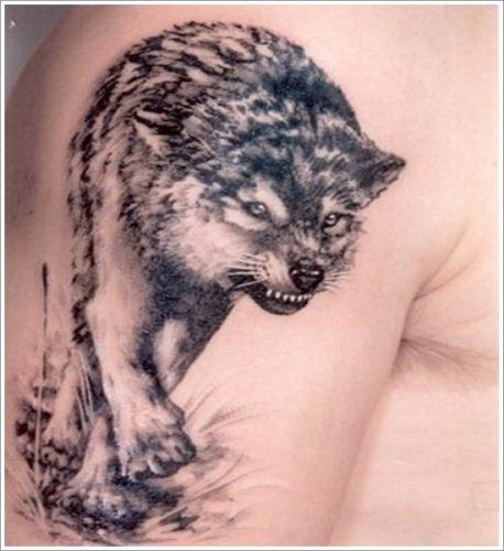 tatuajes de lobos34
