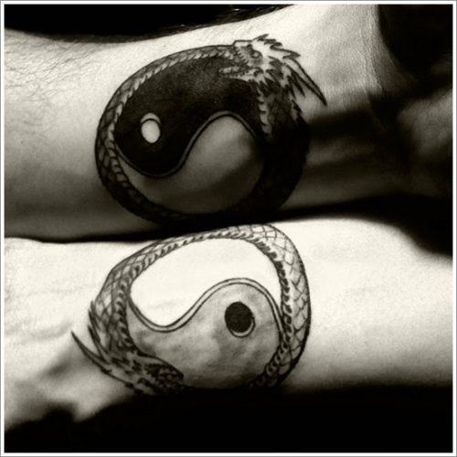 tatuajes de yin yang13