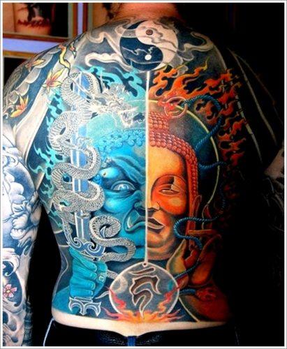 tatuajes de yin yang33