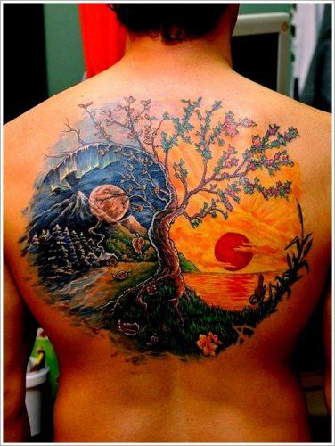 tatuajes de yin yang6
