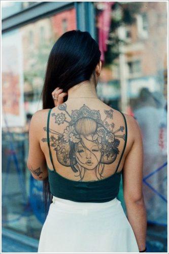 43 tatuajes de gheisas tradicionales28