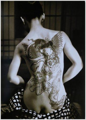 43 tatuajes de gheisas tradicionales29