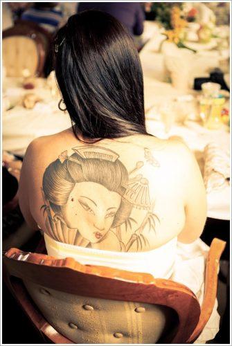 43 tatuajes de gheisas tradicionales3