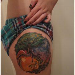 28 diseños de tatuajes de la luna muy bellos