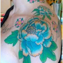 23 tatuajes de la flor peonía