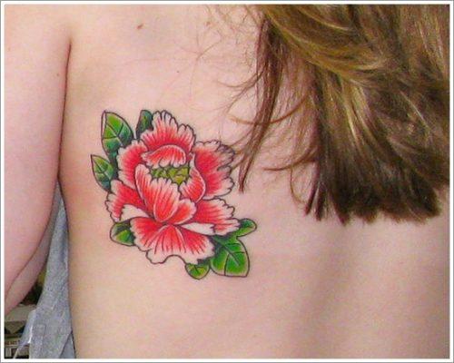tatuajes flor peonia peony18