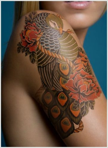 tatuajes flor peonia peony2