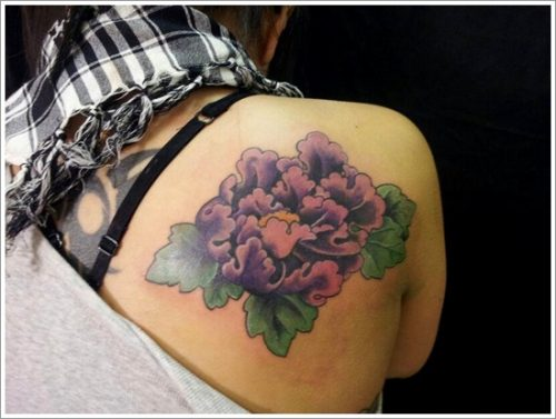 tatuajes flor peonia peony5