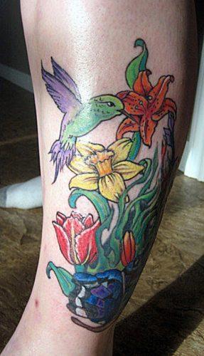 tatuajes de flor narciso24