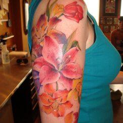30 tatuajes de la flor narciso