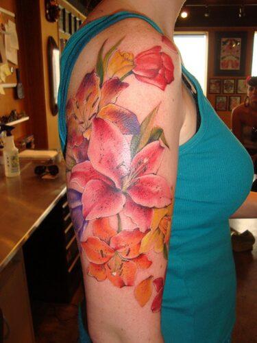 tatuajes de flor narciso28