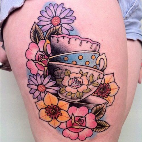 tatuajes de flor narciso3