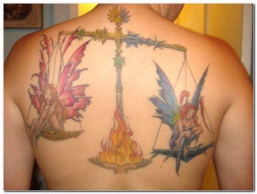 tatuajes del signo libra zodiaco28