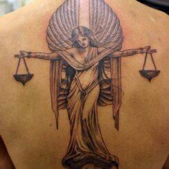 33 tatuajes del signo Libra del zodiaco