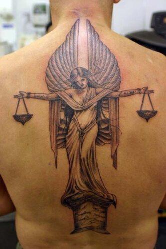 tatuajes del signo libra zodiaco32