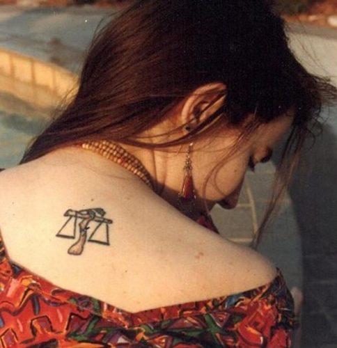 tatuajes del signo libra zodiaco33