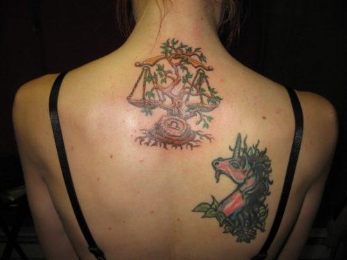 tatuajes del signo libra zodiaco9