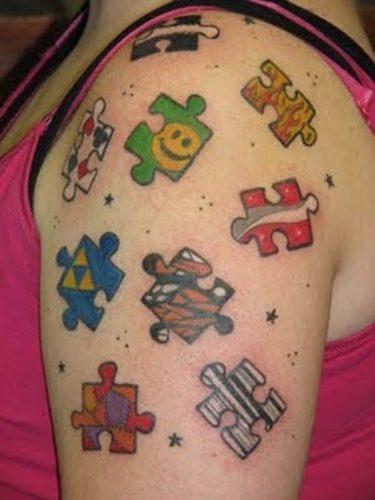 tatuajes de rompecabezas24