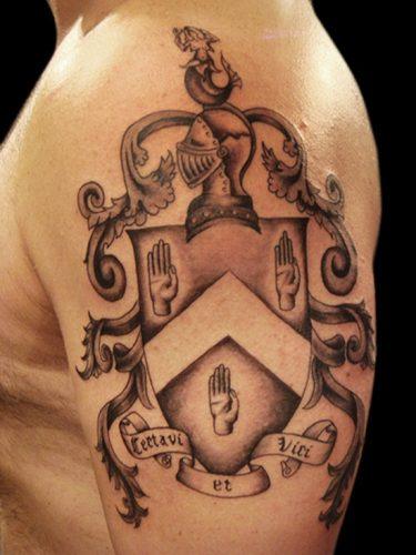 tatuajes de escudos1