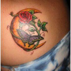 30 diseños de tatuajes de la luna muy hermosos