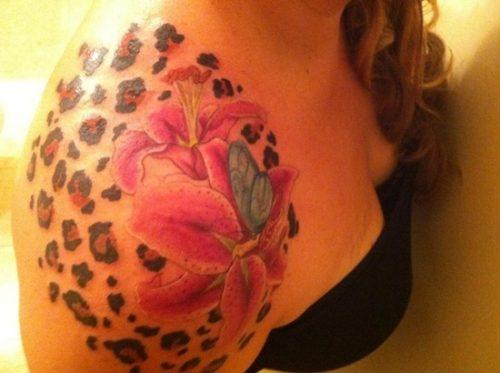 tatuajes de lirios de tigre13
