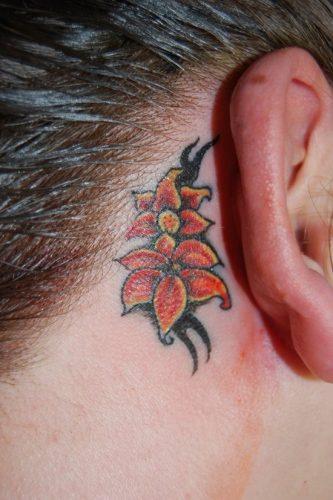 tatuajes de lirios de tigre17