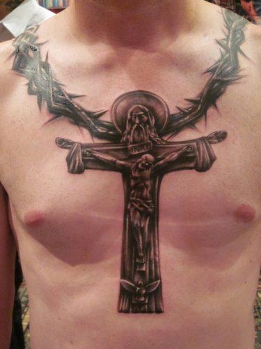 tatuajes de crucifijos8